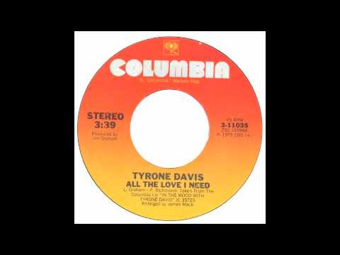 Tyrone Davis Can't You Tell It's Me
