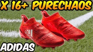 ADIDAS X 16+ PURECHAOS (SPEED OF LIGHT PACK) Review + On-feet