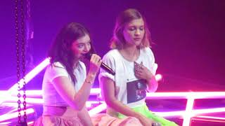 Hang With Me (Robyn cover) - Lorde & Tove Styrke - 3/23/18 - Xcel Energy Center - St Paul, MN