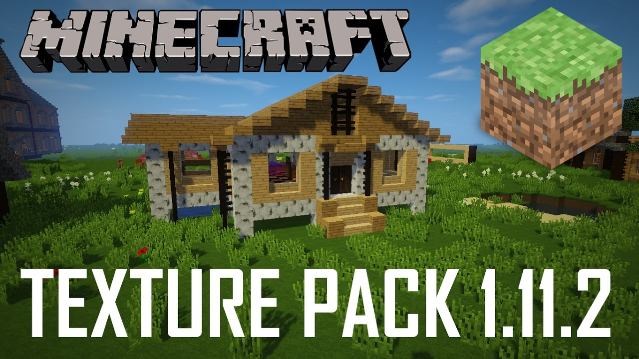 TOP 4 Texture Pack for Minecraft 1.11.2 - YouTube