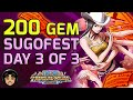200 Gem Sugofest - Day 3 of 3, FINALLY, SHE'S HERE! [One Piece Treasure Cruise]