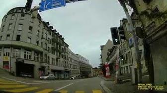 CH: St. Gallen. Schweiz. Rundfahrt durch die Stadt. November 2019
