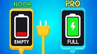 NOOB vs PRO - Recharge Please! Gameplay Walkthrough Part 1