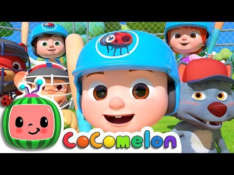 Take Me Out to the Ball Game  ABCkidTV Nursery Rhymes & Kids Songs