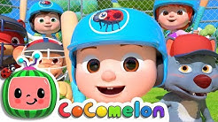 Take Me Out to the Ball Game   CoCoMelon Nursery Rhymes & Kids Songs