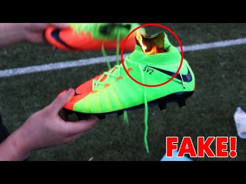 EXPOSED My FAKE $200 RONALDO FOOTBALL BOOTS?! - Can you spot the difference?? 😱🔥