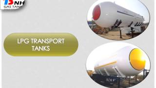 Used  Bulk Liquefied Petroleum Gas Tanks