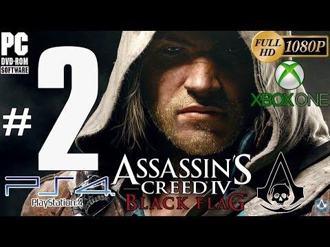 Assassin's Creed IV: Black Flag Parte 2 | Gameplay | PC/PS4/XboxOne Guía Sincronizacion 100%