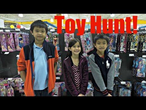 Toy Hunt: Quadcopter Drones, Nintendo Games, Ninjago, Star Wars, Minecraft, Lego, Halo, Boomco
