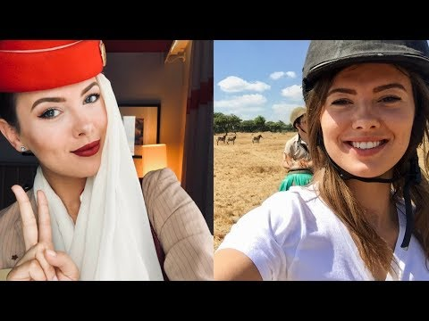 IPHONE X, AND LAYOVERS IN UGANDA AND ZIMBABWE | Emirates Cabin Crew