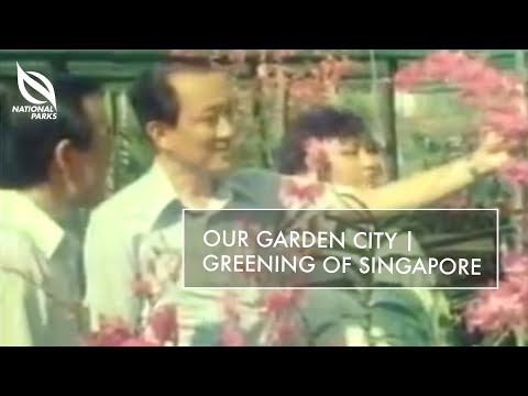 Our Garden City - Greening of Singapore
