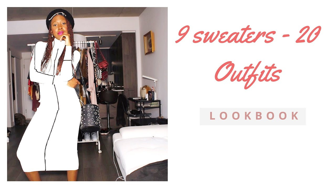 How to style Sweaters for Winter 2019 I 9 Sweaters - 20 Outfits I LOOKBOOK 0be3738e8b396