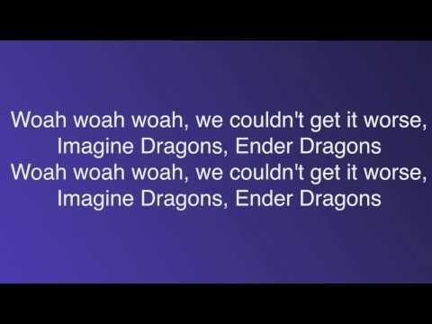 """Dragons"" a Minecraft Parody of Radioactive [2 hour loop] [Lyrics]"