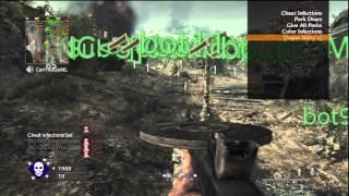 World at War Challenge Lobby VIP Menu