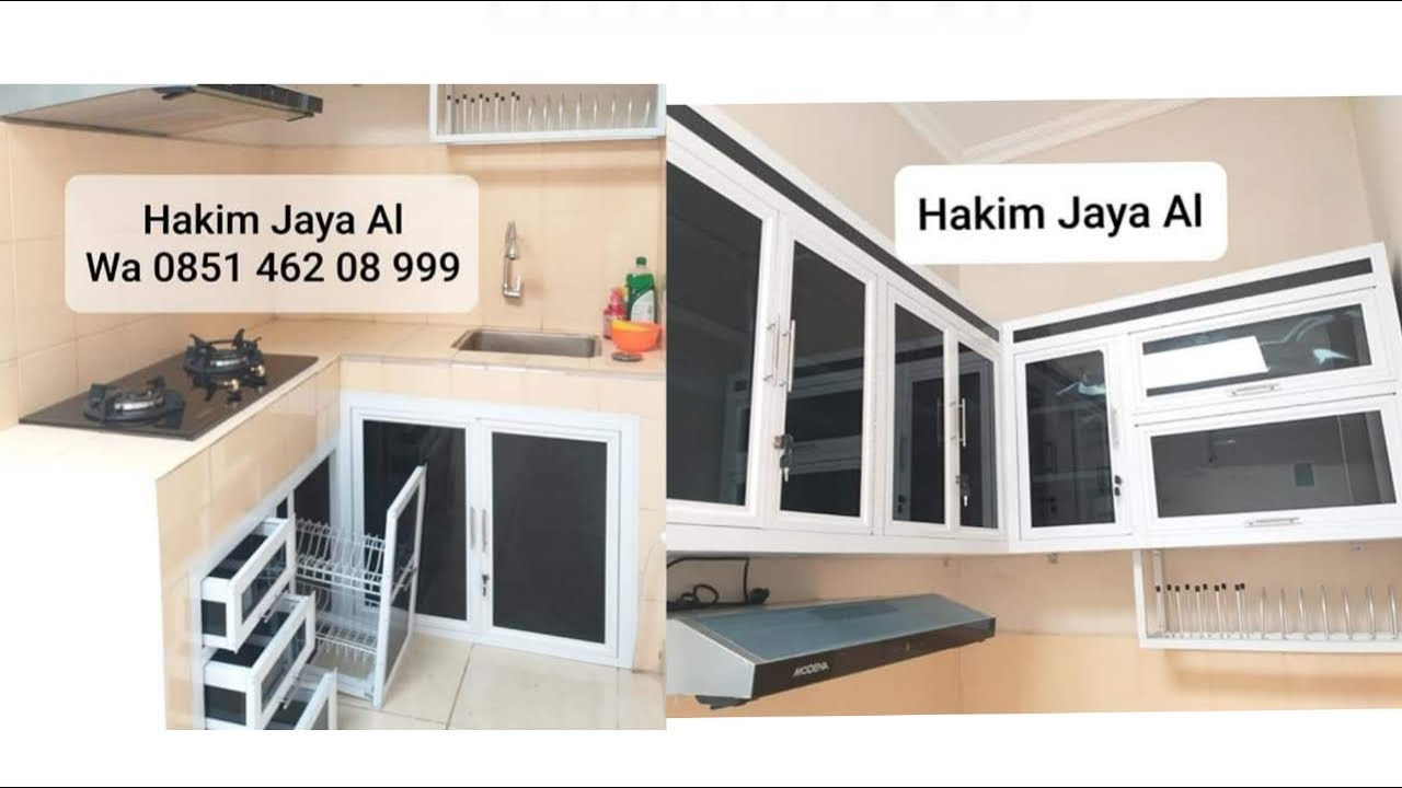 REVIEW KITCHEN SET ALUMINIUM JL DG TATA MAKASSAR PART 2 ...