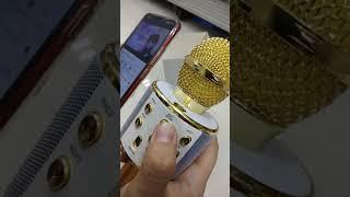 MIC BLUETOOTH - MICROPHONE WIRELESS WS858 - PORTABLE KARAOKE
