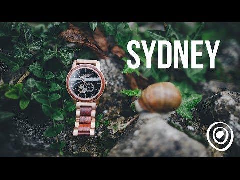 Wood Watch By Holzkern: 'Sydney' | Holzuhr 'Sydney'