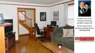 83 Collins Ave, Uniontown, Pa. Presented by Ed and Janie Parson.