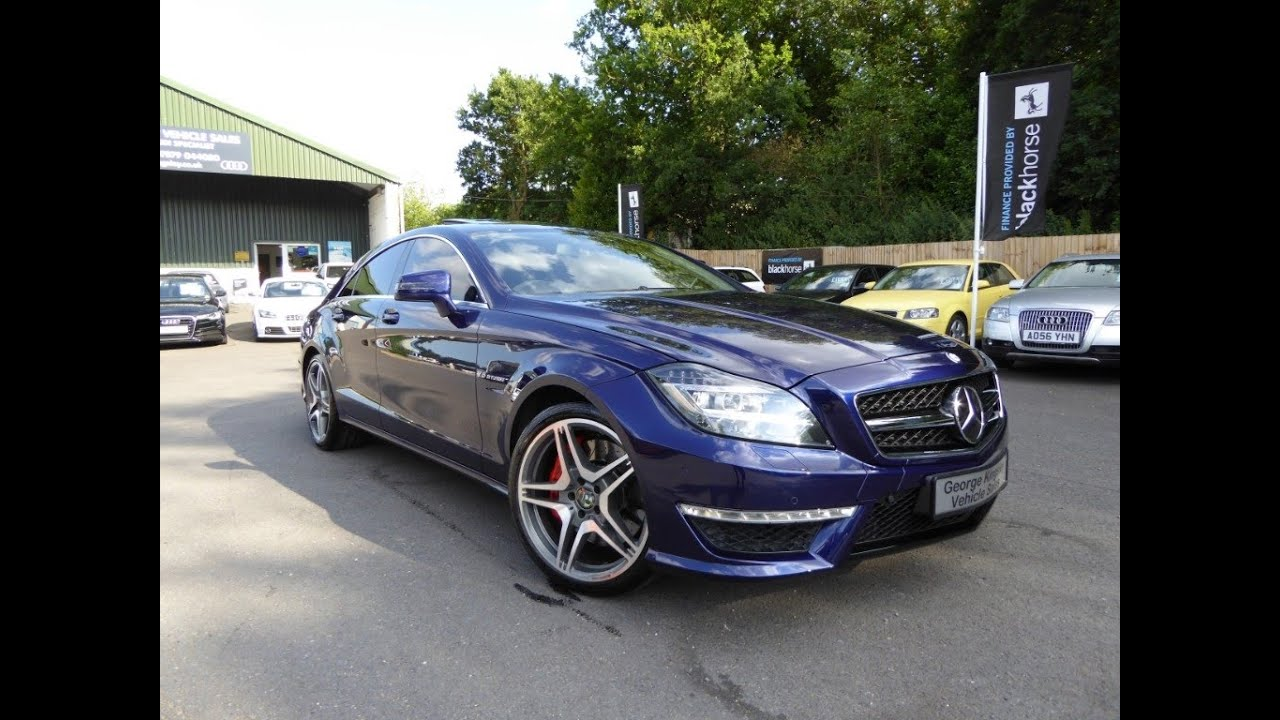 Mercedes Cls Cls63 Amg For Sale At George Kingsley Vehicle