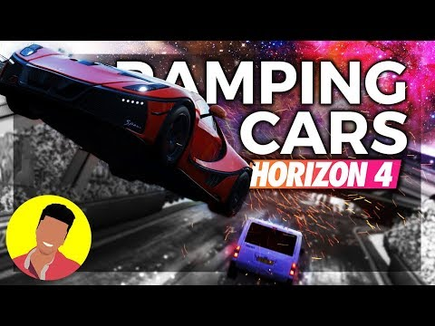 WE RAMPED A CAR INTO THE FESTIVAL | Forza Horizon 4 thumbnail