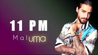 maluma-11-pm-letra-lyrics