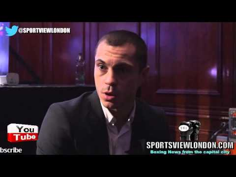 """Scott Quigg Interview in Belfast """"They Know their man (Frampton) is in trouble"""""""