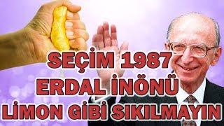 Erdal İnönü'nün Shp Seçim Propagandası- Limon Gibi sıkılmak (1987)