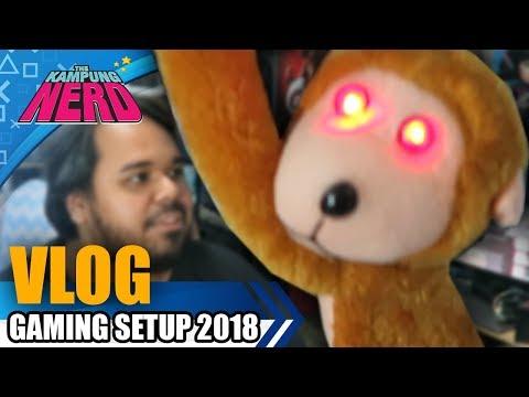 Gaming Setup 2018 | The Kampung Nerd