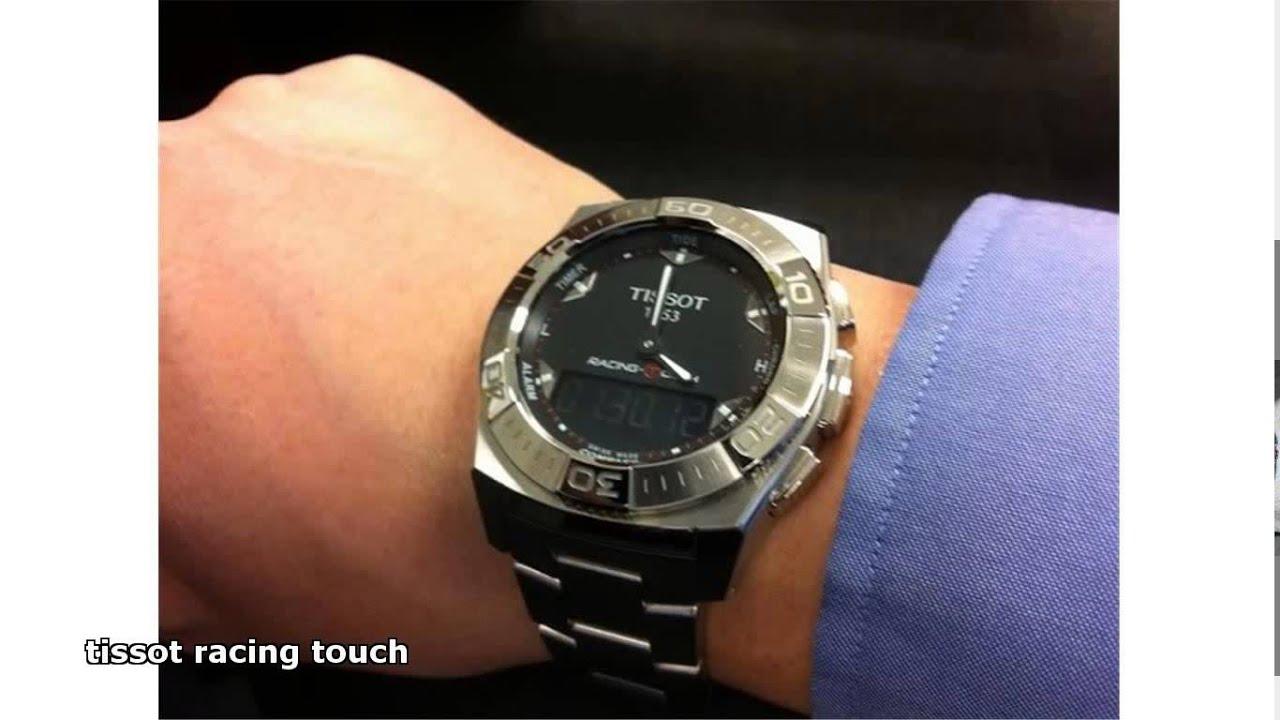 db34cb076c8 tissot racing touch - YouTube