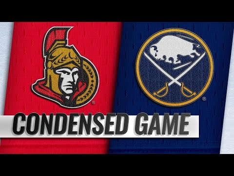 11/03/18 Condensed Game: Senators @ Sabres