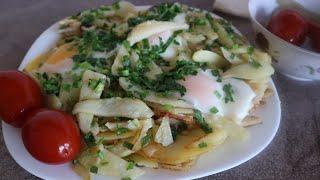 Как легко и быстро пожарить картошку всеми известный рецепт