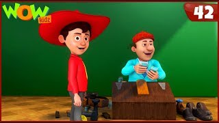 New Cartoon Show   Chacha Bhatija   Wow Kidz   Hindi Cartoons For Kids   Chacha's New Business