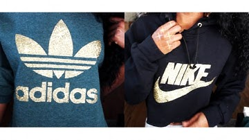 HOW TO: DIY Nike & Adidas Hoodies/Sweatshirts EASY