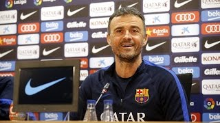 Luis Enrique wants different game in Copa del Rey to league clash with Real Sociedad