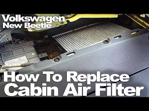 New Beetle: How To Replace Cabin Air Filter