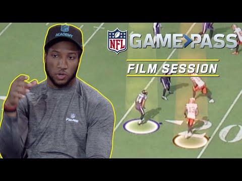 Marlon Humphrey Breaks Down Man to Man Coverage, Interceptions, & More!   NFL Film Session