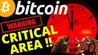 👀 BITCOIN IN A CRITICAL AREA!!!! 👀bitcoin litecoin price prediction, analysis, news, trading
