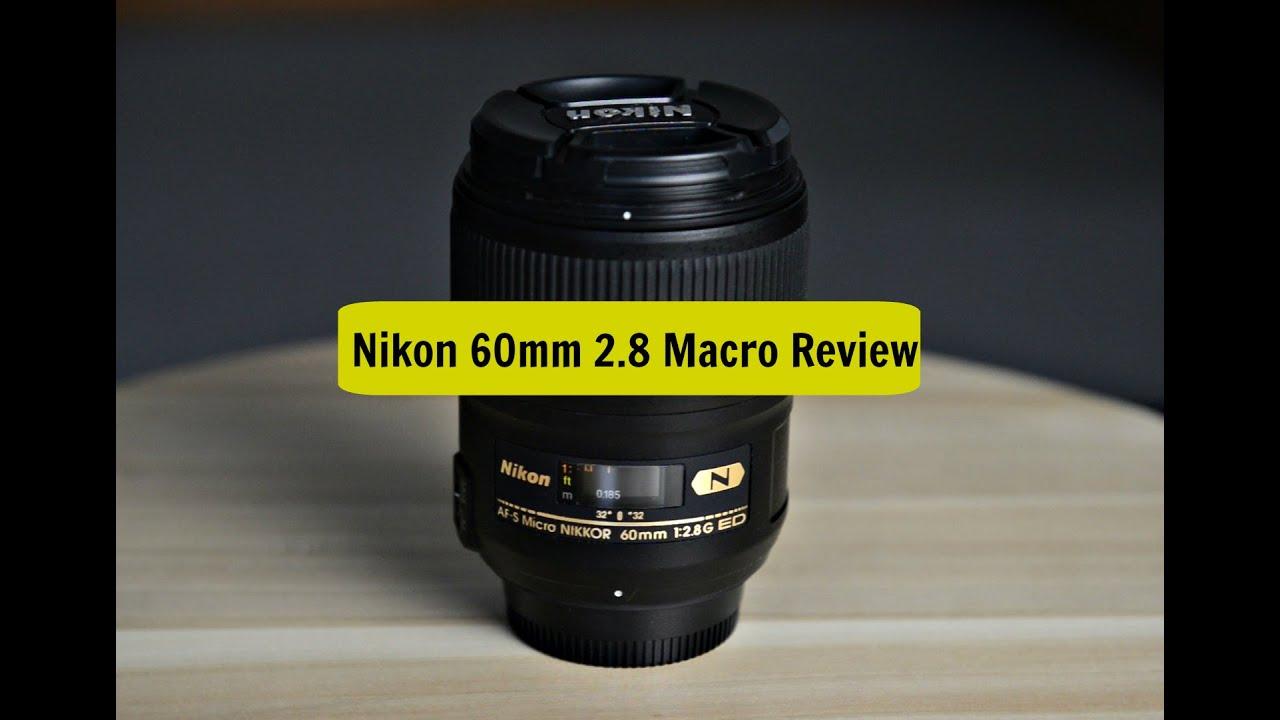 nikon 60mm f28 g review best macro wedding lens youtube