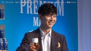 サントリービールは25日、東京都内で「ザ・プレミアム・モルツ」戦略説...