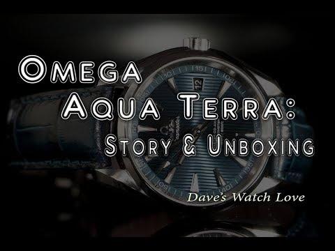 Omega Aqua Terra Blue 41.5mm Unboxing and First Impressions