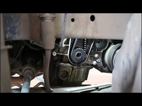 Замена ремня ГРМ и роликов на Chevrolet Cruze 1,8 Шевроле Круз 2015 года  2часть