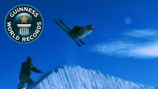 Ultimate Guinness World Records Show - Episode 33: Longest Jump over Snow Ploughs thumbnail