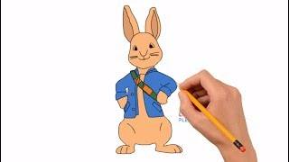 How to Draw Peter Rabbit Step by Step Easy