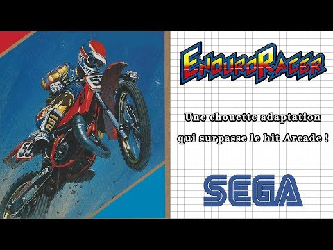 [SMS] Enduro Racer | Une chouette adaptation qui surpasse le hit Arcade !