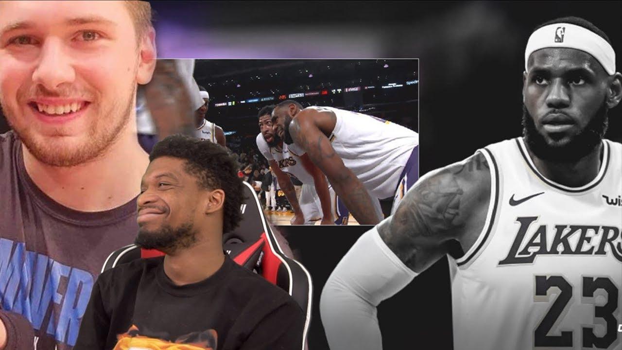 Luka Ends The Streak Lebron Is Tired Of Kcp Los Angeles Lakers Vs Dallas Mavericks Highlights