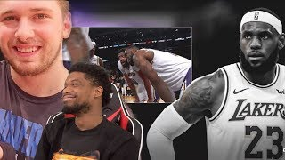 LUKA ENDS THE STREAK! LEBRON IS TIRED OF KCP! Los Angeles Lakers vs Dallas Mavericks Highlights