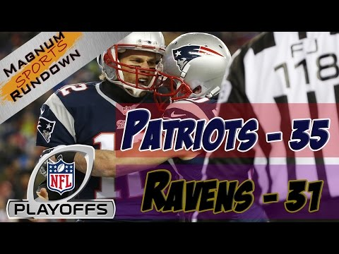 Patriots Beat Ravens 35-31 in AFC Divisional Playoffs || MSR