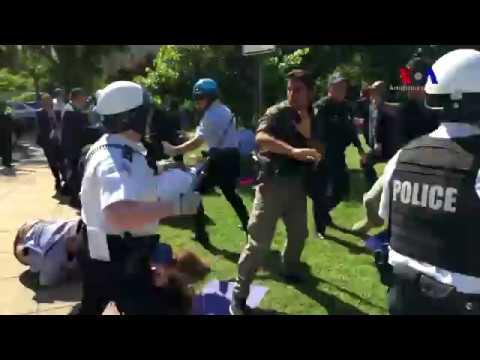 Demonstratie anti-Erdogan Washington