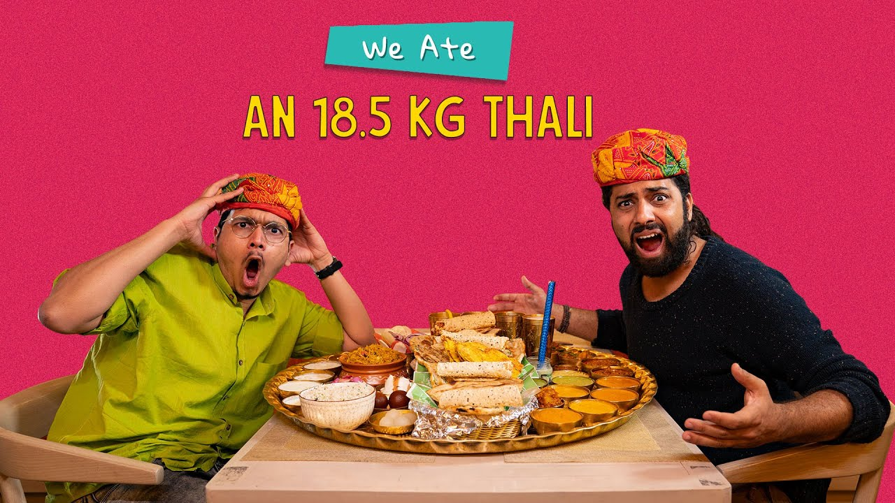 Download Win ₹2 Lakhs If You Finish This Thali: Who Will Finish It First? | Ok Tested