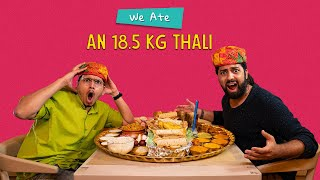 Win ₹2 Lakhs If You Finish This Thali: Who Will Finish It First? | Ok Tested